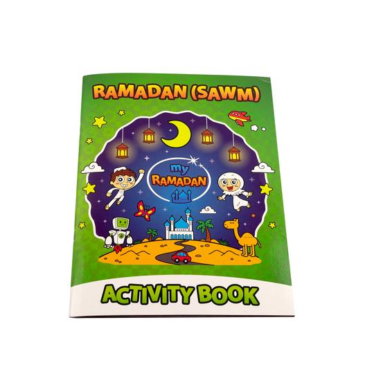 Ramadan Activity booklet front