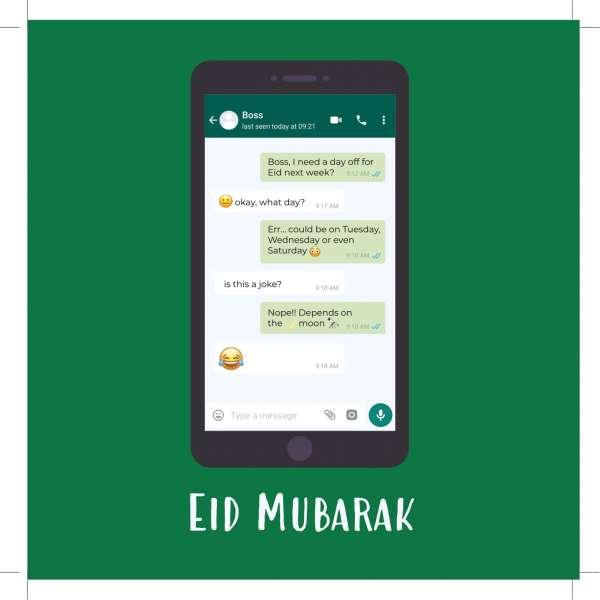 whatsapp eid card
